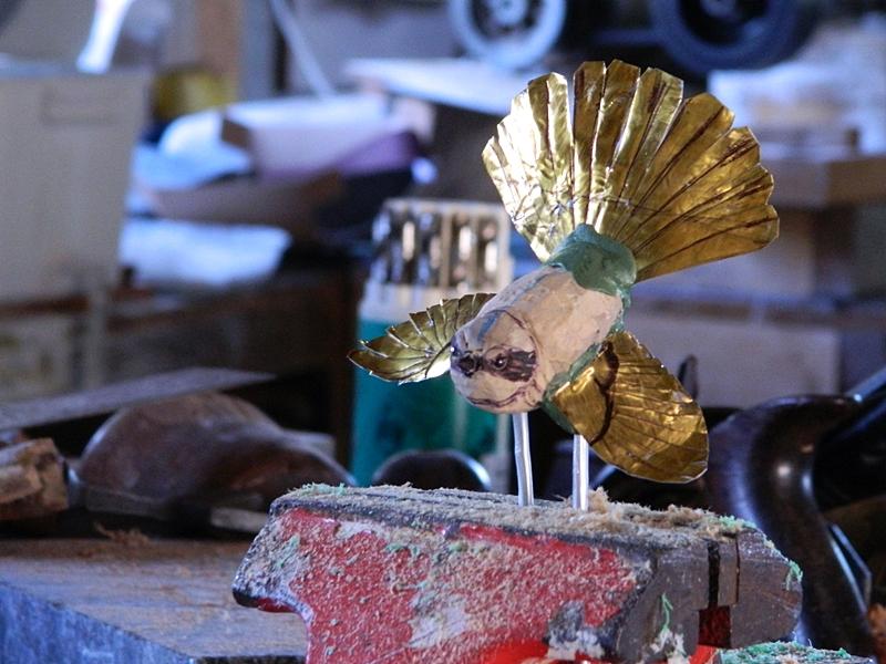 fantail sculpture