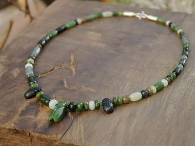 jade beads insect