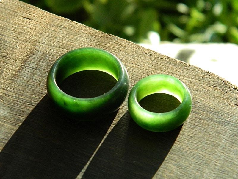 pounamu rings